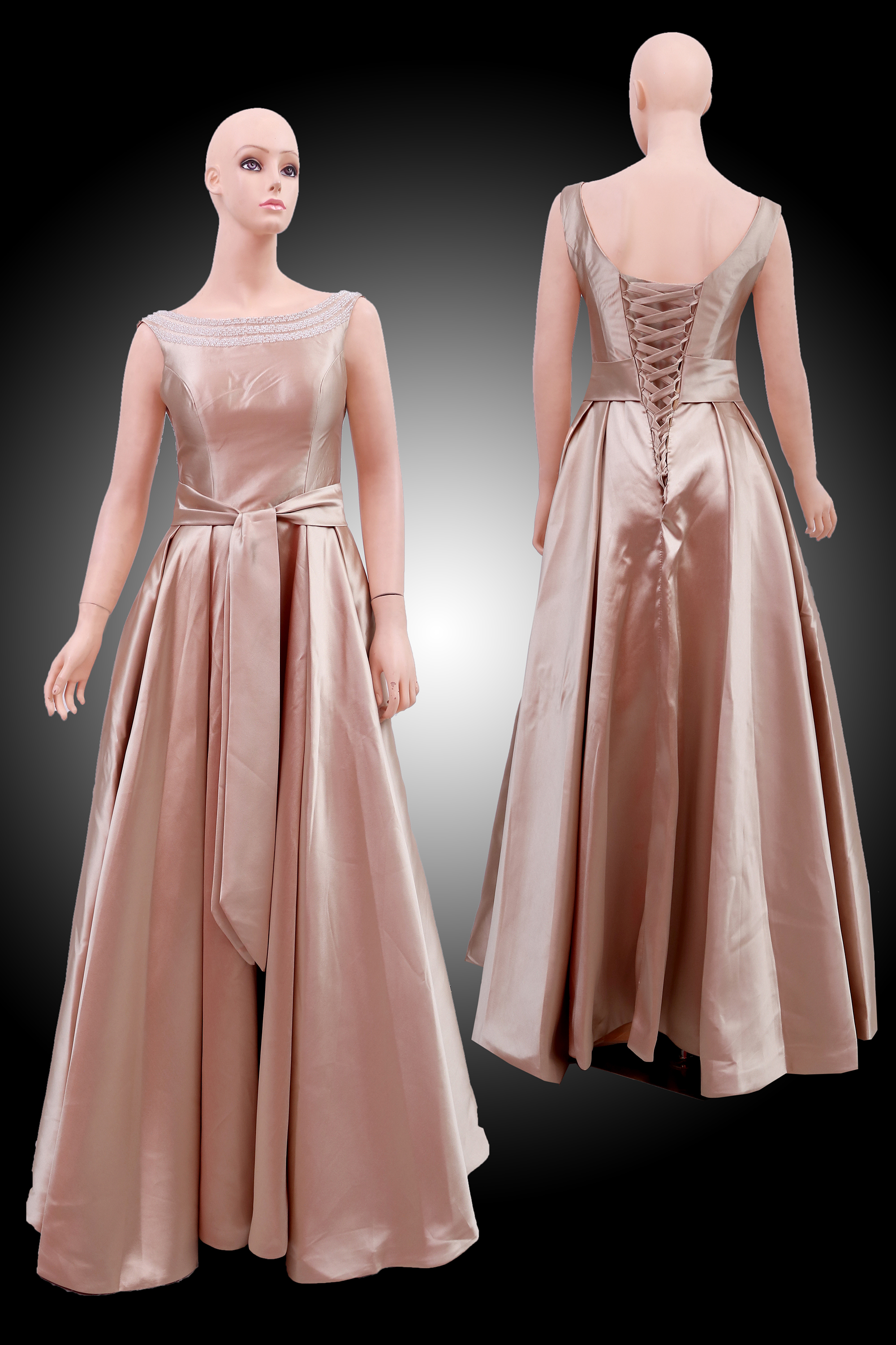 Gaun Pesta Gold 31815 C Sewa Jual Baju Gaun Pesta Bridesmaid Dress